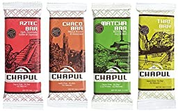 Naturally Healthy Cricket Energy Bars - Sampler Pack - 1 Of Every Delicious Flavor - High Protein Content - By Chapul (4 Pack)