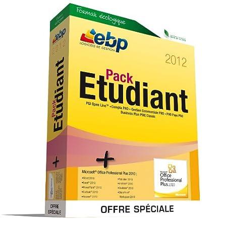 EBP Pack Etudiant 2012 - Offre Spéciale MS 2010