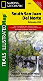 img - for South San Juan, Del Norte (National Geographic Trails Illustrated Map) book / textbook / text book
