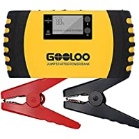 Gooloo 1000A Peak 20800mAh Portable Car Jump Starter (Yellow)