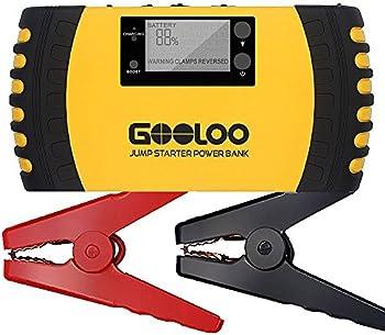 Gooloo 1000A Peak 20800mAh Portable Car Jump Starter