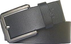 Sondagar Arts Men's Belt (SAB78_Black_44)