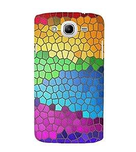 MULTICOLOURED INTERLOCKING TILES PATTERN 3D Hard Polycarbonate Designer Back Case Cover for Samsung Galaxy Mega 5.8 i9150 :: Samsung Galaxy Mega 5.8 i9152