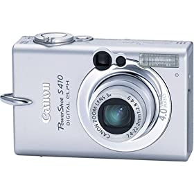 Canon PowerShot S410 4MP Digital Elph with 3x Optical Zoom