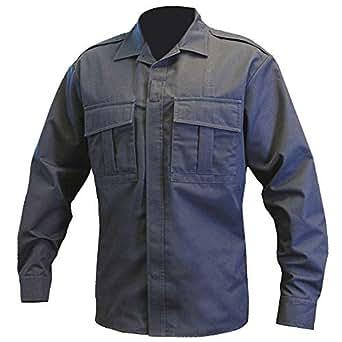 Blauer 8730 Streetgear L/S BDU Shirt - Dark Navy at Amazon Men's