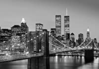 York Brooklyn Bridge Photo Wallpaper Wall Mural from WallStickerWarehouse