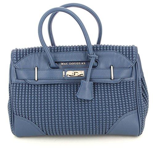 Mac Douglas, Borsa a mano donna, Blu (bleu-mcbd), 25 cm