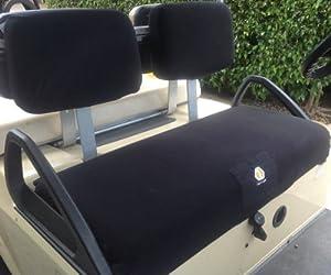 Cart Logic CL 12158 CC-DS Cozi Cover Golf Cart Seat Cover Set, Black by Cart Logic