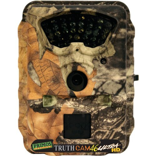 Bushnell 63044 Primos(R) Ultra Hd46 7.0 Megapixel Video With Audio & Night Vision Truth(R) Camera