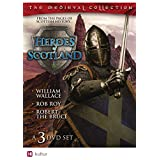 Heroes of Scotland Boxed Set - William Wallace, Robert the Bruce, Rob Roy ~ Heroes of Scotland