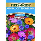 Ferry-Morse Annual Flower Seeds 1009 Annual Cut Flower Mixture 600 Milligram Packet