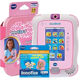 InnoTab 3 Bundle Pink with Bubble Guppies Software