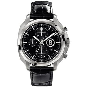 Junghans Herren-Armbanduhr XL Bogner Willy Chronoscope Chronograph Automatik Leder 027/4261.00