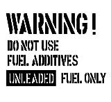 フューエルステッカー 給油口WARNING! FW-01