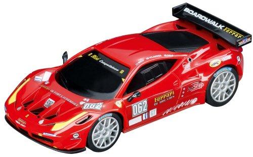 Carrera - 20061211 - Véhicule Miniature et Circuit - Ferrari 458GT2 - Race Version 1 - Echelle 1/43