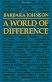 A World of Difference (0801837456) by Johnson, Barbara