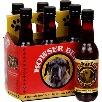 Dogs Bowser Beer 6 Pack Beefy Brown Ale