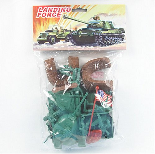 Plastic Green Army Men Soldier 23 piece Playset with M38 Tank, MB Jeep, Bunkers and Tank Traps! - Buy Plastic Green Army Men Soldier 23 piece Playset with M38 Tank, MB Jeep, Bunkers and Tank Traps! - Purchase Plastic Green Army Men Soldier 23 piece Playset with M38 Tank, MB Jeep, Bunkers and Tank Traps! (HingFat, Toys & Games,Categories,Toy Figures & Playsets,Playsets)