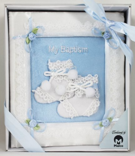 4x6 Satin My Baptism Boy Photo Album - 1