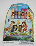 Disney Fairies 5 Pack Lip Balm Jelly Set with Tin Carrying Case