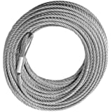 WINCH CABLE - GALVANIZED - 3/8 X 100 (14,400lb strength) (OFF-ROAD VEHICLE RECOVERY)