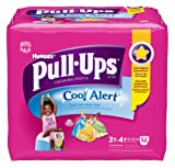 Pull-Ups Training Pants with Cool Alert, Girls, 3T-4T, 52 Count