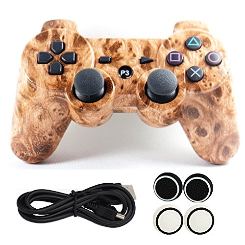 yins-ps3-six-axis-dual-shock-bluetooth-vedio-game-controller-wireless-gamepad-hydro-dipped-plating-j
