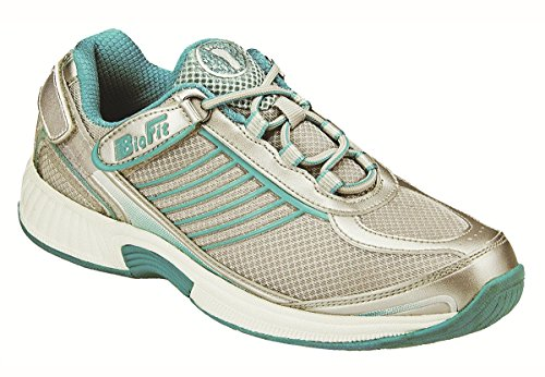 Orthofeet Verve Womens Athletic Tie-less Lace 12 W US
