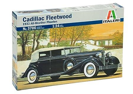 Italeri - I3706 - Maquette - Voiture et Camion - Cadillac Fleetwood - Echelle 1:24