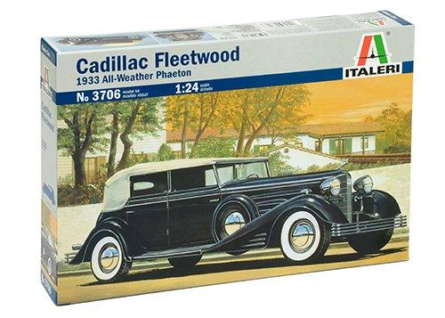 The Hobby Company I3706 Italeri 1:24 Cadillac Fleetwood 1933 All Weather Phaeton