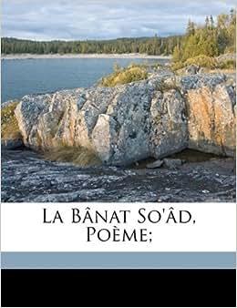 La bânat so'âd, poème; (Arabic Edition): Basset René 1855-1924