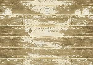 Bungalow Flooring FoFlor 46-by-66-Inch Area Rug, Barnboard Design