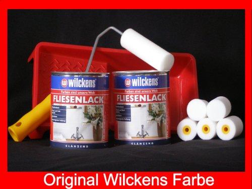 2-dosen-fliesenlack-inkl-farbroller-wilckens-weiss-fur-16-qm
