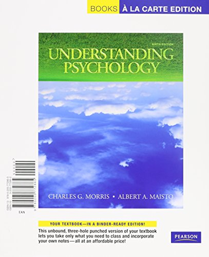 Understanding Psychology, Books a la Carte Plus MyPsychLab Pegasus (9th Edition)