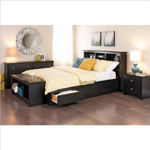 Black Bedroom Furniture Sets 9354 front