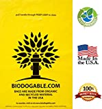 GUARANTEED Best Eco-Friendly Dog Poop Bags (201-Count) - Our Specialized BioHybrid Material Is Made In The USA To Protect Our Earth! Unscented Doggie Walking Bulk Bags With Handles Are Perfect To Make Pet Waste Disposal Convenient & Sanitary!