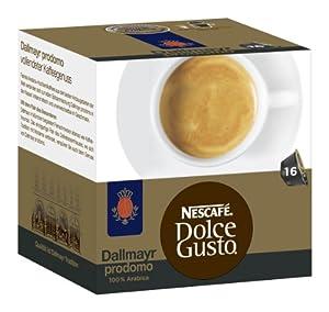 Choose Nescafé Dolce Gusto Dallmayr prodomo, Pack of 3, 3 x 16 Capsules - Nestl