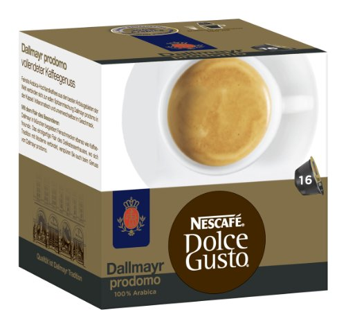 Choose Nescafé Dolce Gusto Dallmayr prodomo, Pack of 3, 3 x 16 Capsules - Nestl