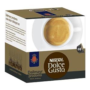 nescaf dolce gusto dallmayr prodomo 3er pack 48 kapseln the most intelligent man. Black Bedroom Furniture Sets. Home Design Ideas