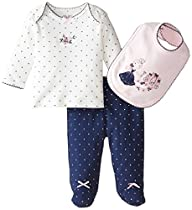 Little Me Baby-Girls 3 Piece Gift Set…