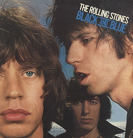 Black and Blue by The Rolling Stones,&#32;Occ. Guitar, Harmonica Mick Jagger - Vocals,&#32;Keith Richard - guitar,&#32;Ron Wood - guitar and Bill Wyman - bass