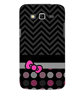 Love at Fashion Dotted Chevron 3D Hard Polycarbonate Designer Back Case Cover for Samsung Galaxy Grand 2 G7102 :: Samsung Galaxy Grand 2 G7106