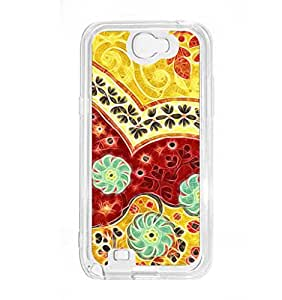 a AND b Designer Printed Mobile Back Cover / Back Case For Samsung Galaxy Note 2 (SG_N2_3099)