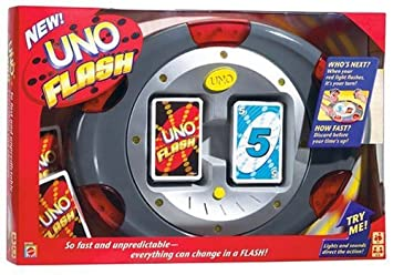 Mattel - M1002 - Jeux de cartes - Uno Flash
