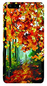 TrilMil Printed Designer Mobile Case Back Cover For Huawei Honor 6 Plus