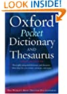 Oxford Pocket Dictionary and Thesaurus
