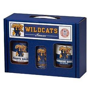 Kentucky Wildcats Ncaa Tailgate Kit 5oz Hot Sauce 16oz Bbq Sauce 16oz Picante Salsa from Hot Sauce Harrys