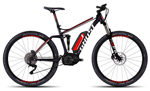 GHOST Teru FS 7 black/red/white - Modell 2016 - E-Mountainbike Fully Größe M