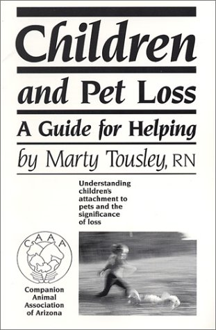 Children and Pet Loss: A Guide for Helping