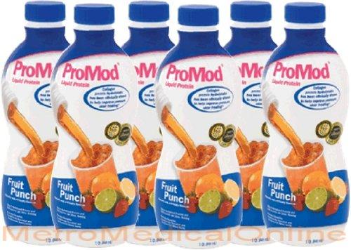 Promod Liquid Protein Supplement Fruit Punch Flavor 1-Qt (946-Ml/32Oz) Bottles - 1/Case Of 6